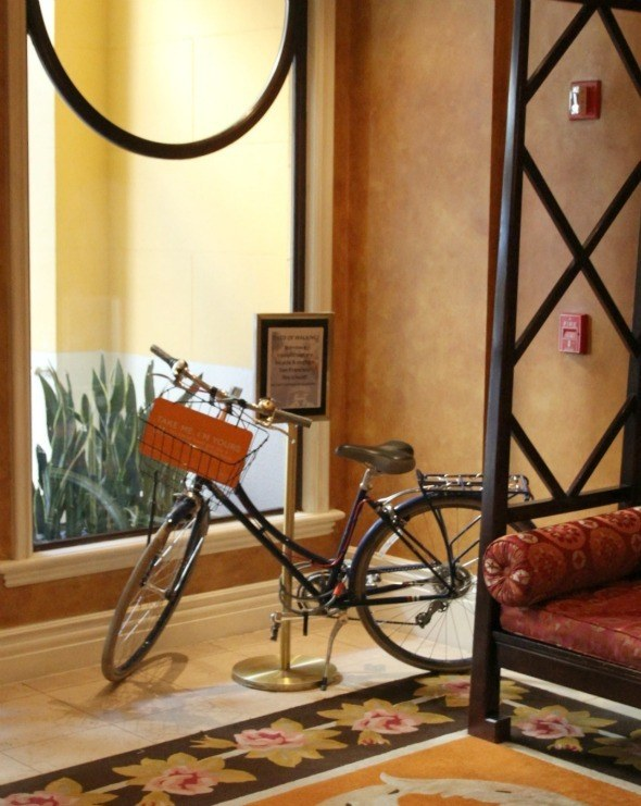 Hotel Monaco Bikes Available to Guests
