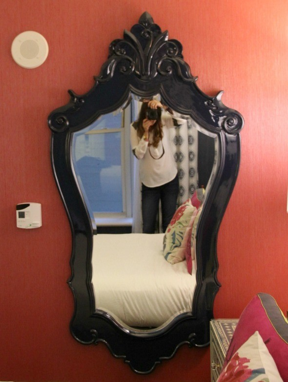 Hotel Monaco Mirror in Queen Room