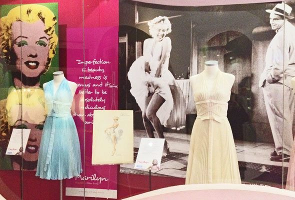 Hollywood Glamour in Newbridge Silverware Factory museum in Ireland