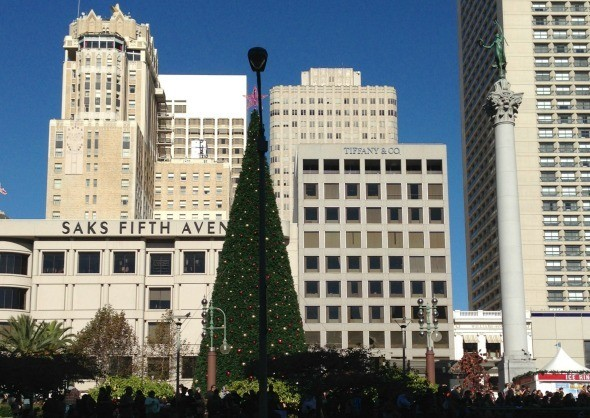 San Francisco's Union Square for the Holidays
