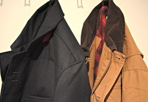 contemporary and classic outerwear