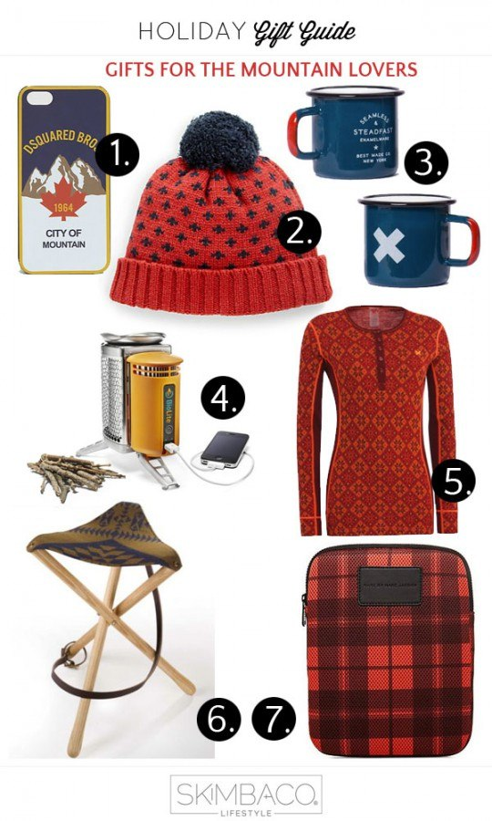 gifts for outdoorsy type mountain lover from @skimbaco