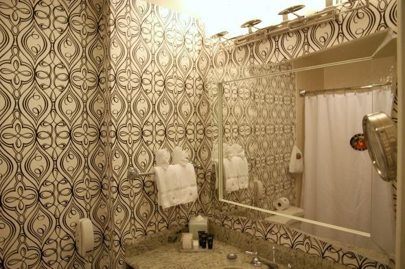 Bathroom at Hotel Monaco San Francisco