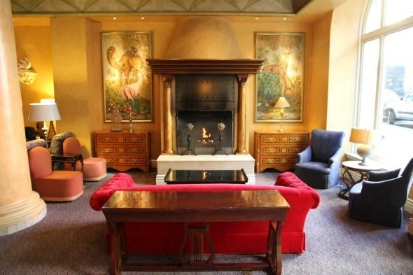 Sitting Room at Hotel Monaco San Francisco