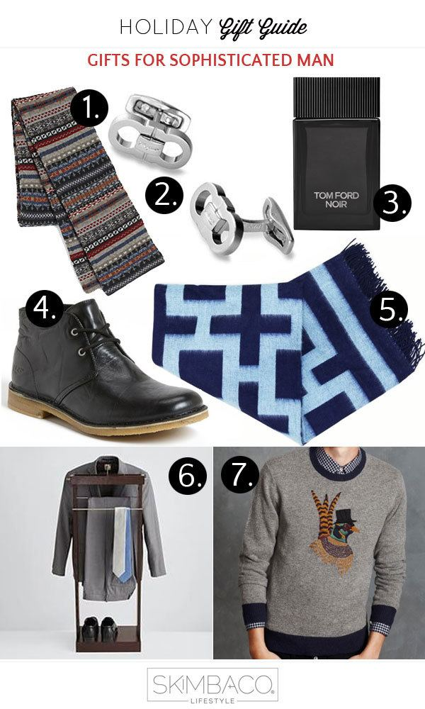 Holiday gift guide lux gifts for sophisticated man for Designer gifts for men