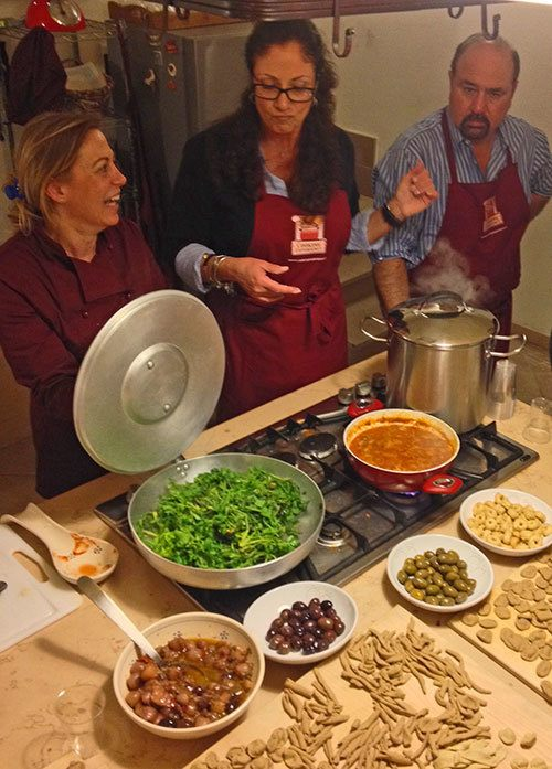 Learning to Host Parties at Home like the Italians Do