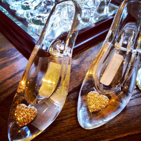 Glass slippers in Germany's Epcot