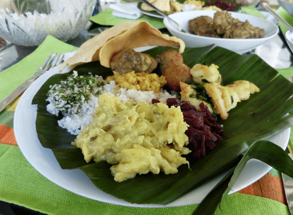 Delicious Sri Lankan Food