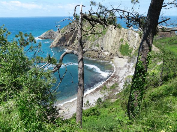 Playa del Silencio, Cudelliero, Asturias, Spain
