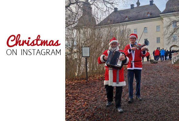 Christmas on Instagram