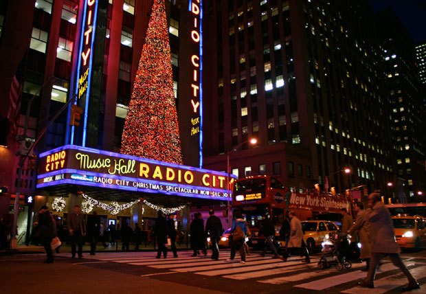 NYC during the Christmas time