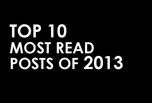 most popular posts of 2013 @skimbaco