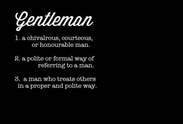 what-is-gentleman-today