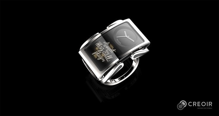 Ibis smart watch - the first wearable jewelry from Finland