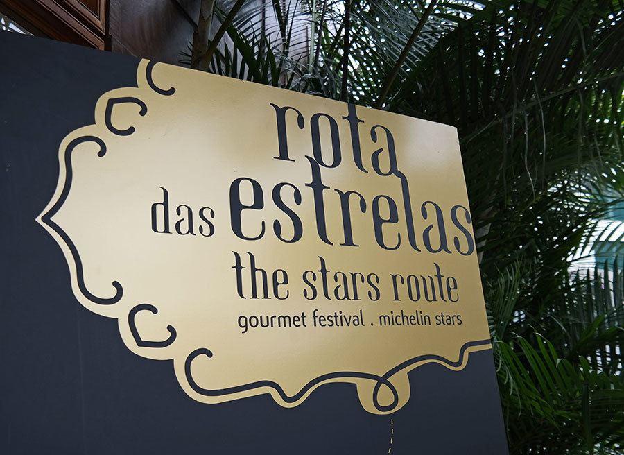 rota das estrales gourmet food event in Portugal