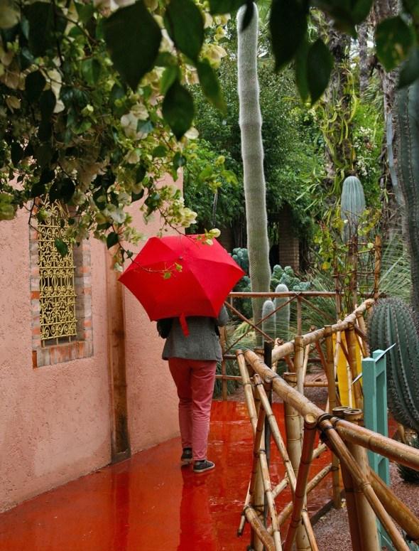 The jardin majorelle is where yves saint laurent got his for Jardin yves saint laurent