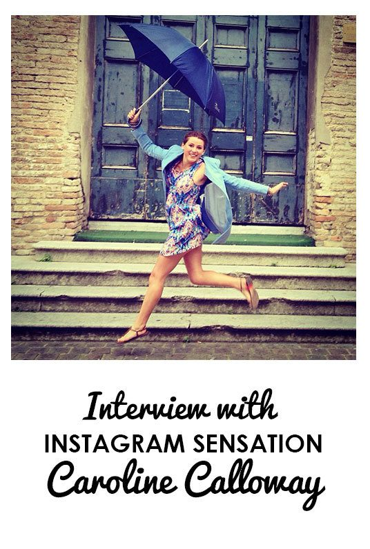 Interview With Instagram Sensation Caroline Calloway