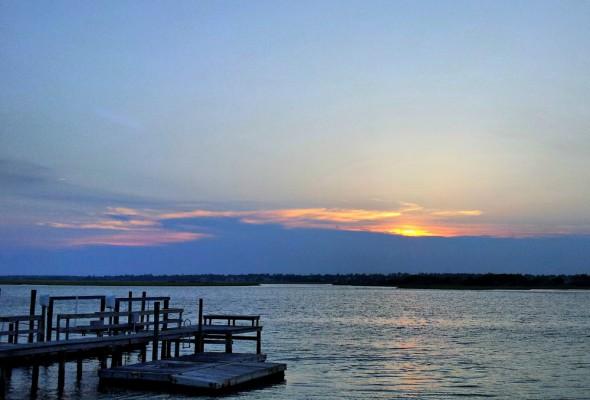 Topsail Sunset