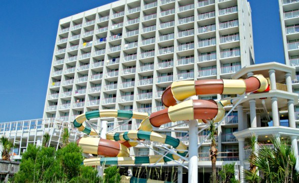 Crown Reef Resort waterpark