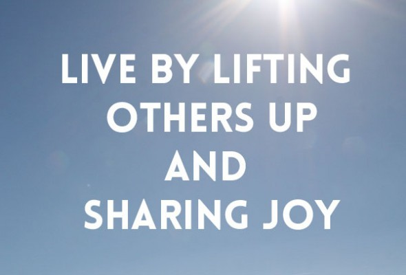 live-by-lifting-others-up