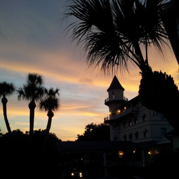 ghosts sightings at Jekyll Island Club Hotel,