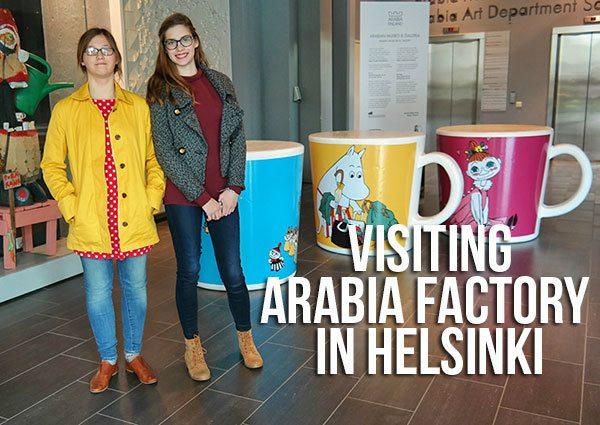Visiting Finnish design Arabia factory in Helsinki
