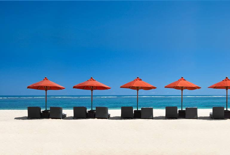 Beach at the St Regis Bali