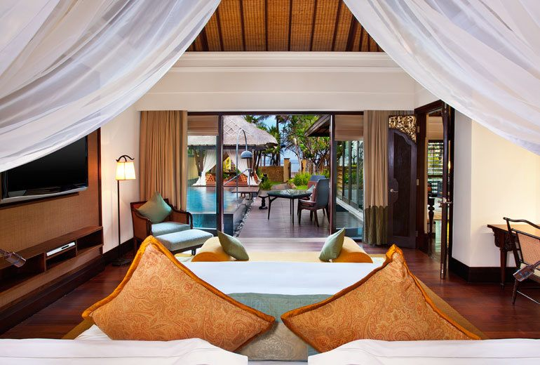 The Strand Villa at St. Regis Bali  Resort - Bedroom with Ocean View