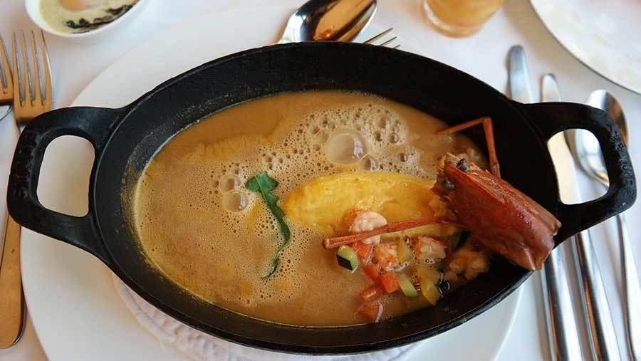 lobster-omelette-bisque-at-st-regis