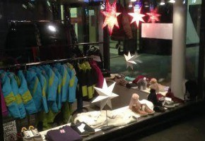 PopUp Winter Kauppa in Helsinki selling winter clothes from Italian fashion brands