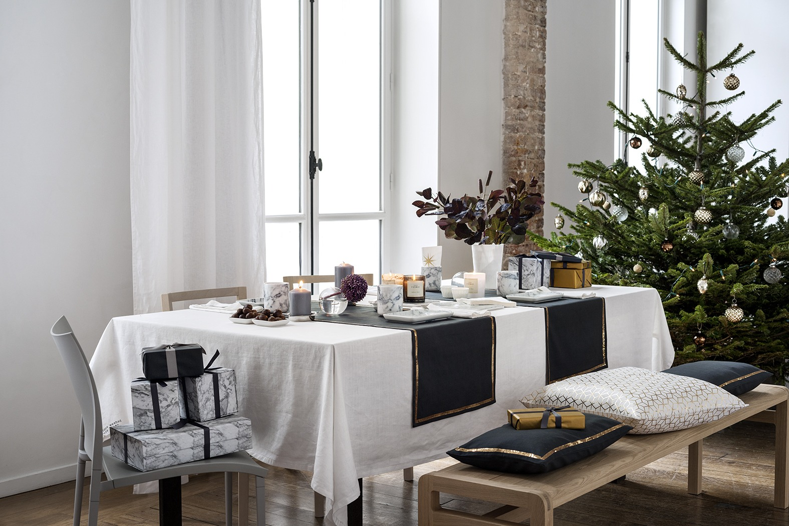 Modern Scandinavian Christmas Decorating Inspiration Skimbaco Lifestyle Online Magazine