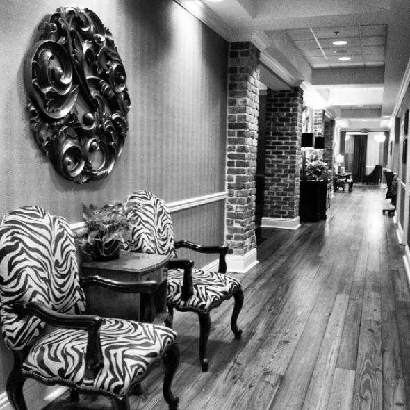 Holidays Inn Express Historic District has great location.