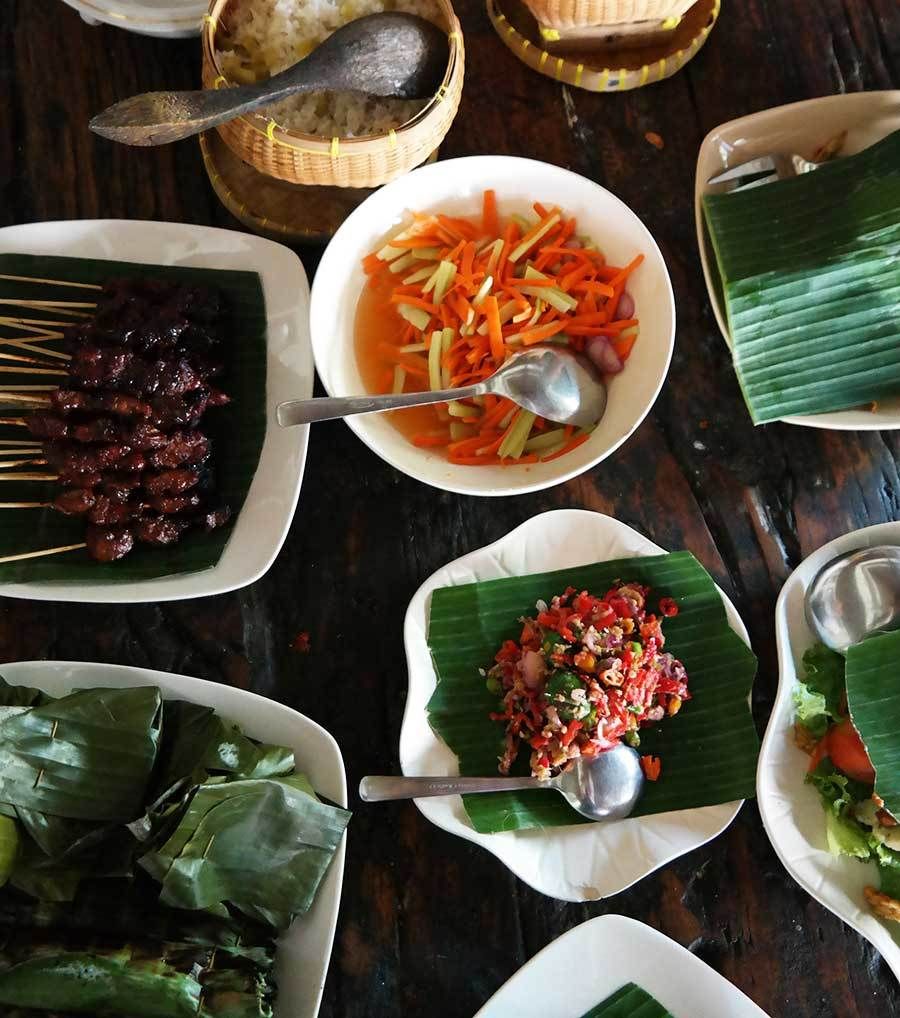 Bring home a skill: learn to cook Balinese food.