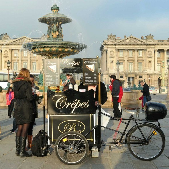 Crepes on bicycle!