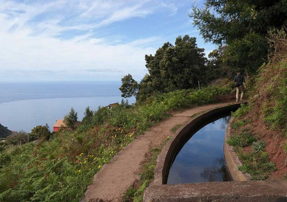 Great hike: walk by the levadas of Madeira. Not for those who are afraid of heights.