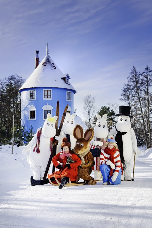 Moomin World is based on Moomin characters by Tove Jansson. Photo: Muumimaailma Oy