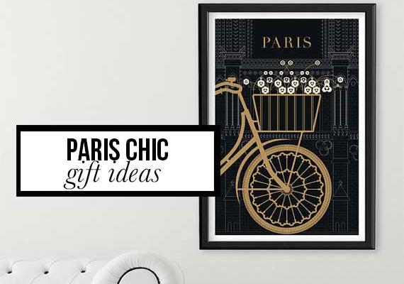 Paris Chic Gift Ideas