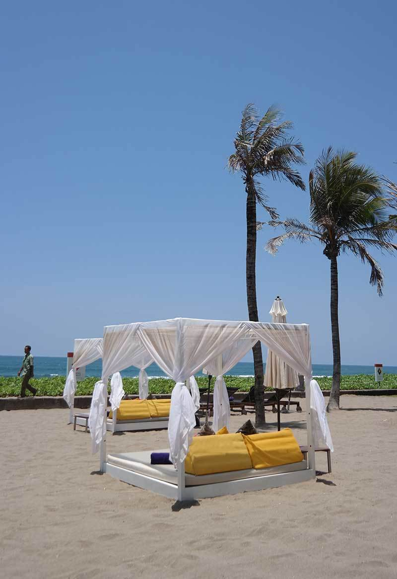The W is a chic beach resort in Seminyak.