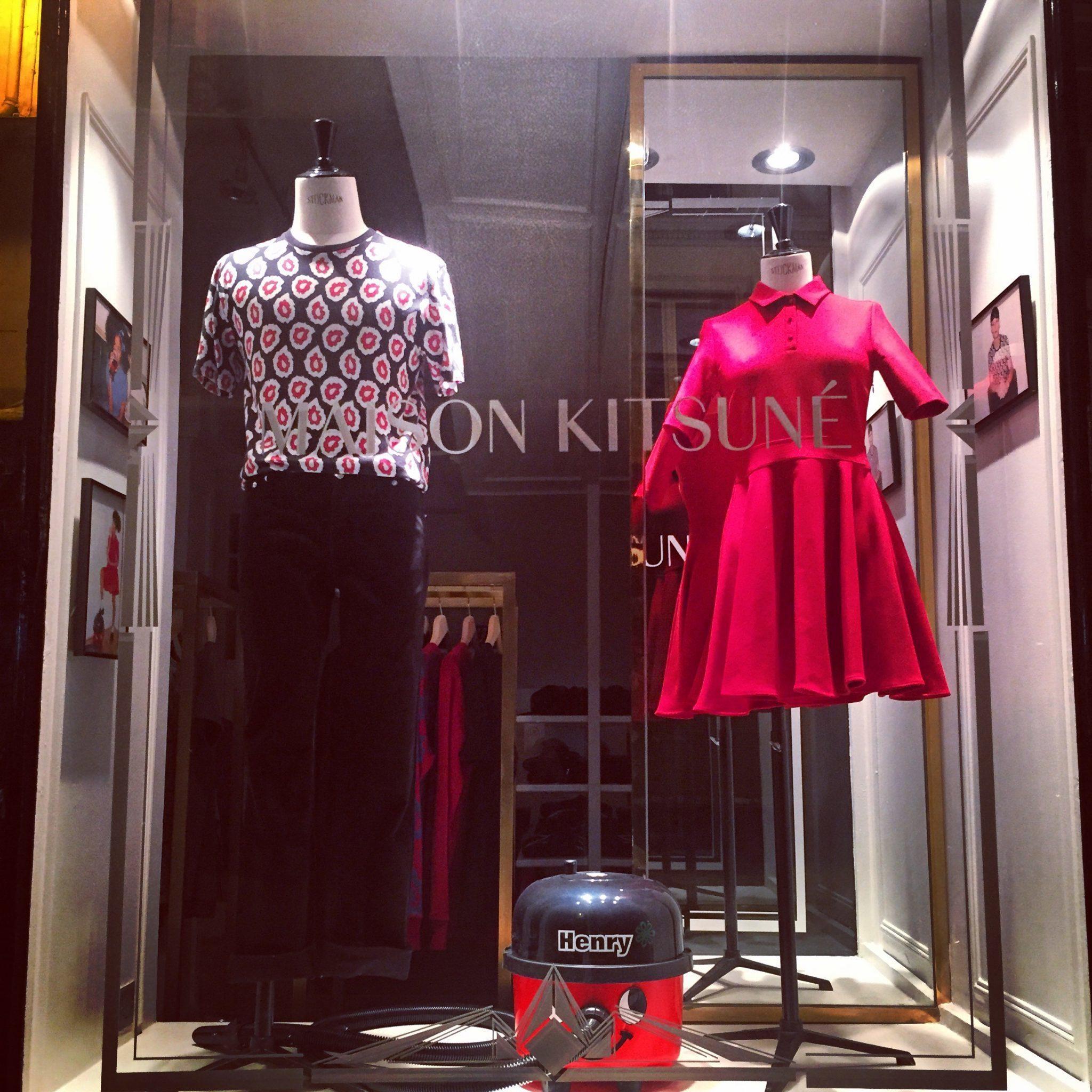 luxury shopping in Paris