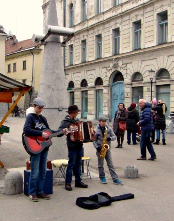 Street music Ljublajana