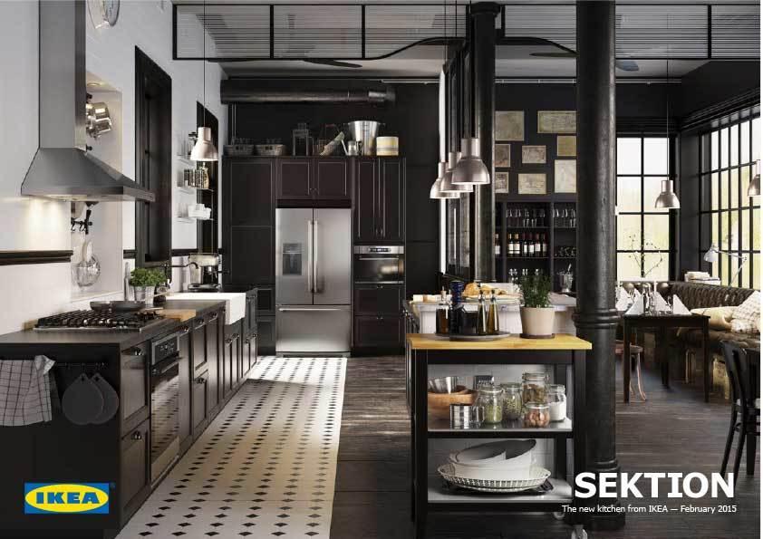 Ikea S New Modular Kitchen Sektion Makes Custom Dream