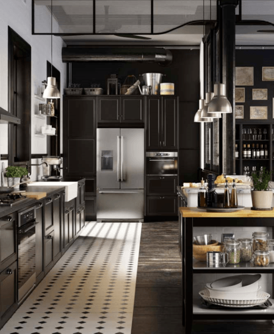 ikea 39 s new modular kitchen sektion makes custom dream kitchens possible for everyone skimbaco. Black Bedroom Furniture Sets. Home Design Ideas