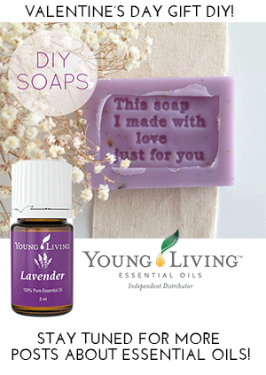 Make these easy DIY lavender soaps!