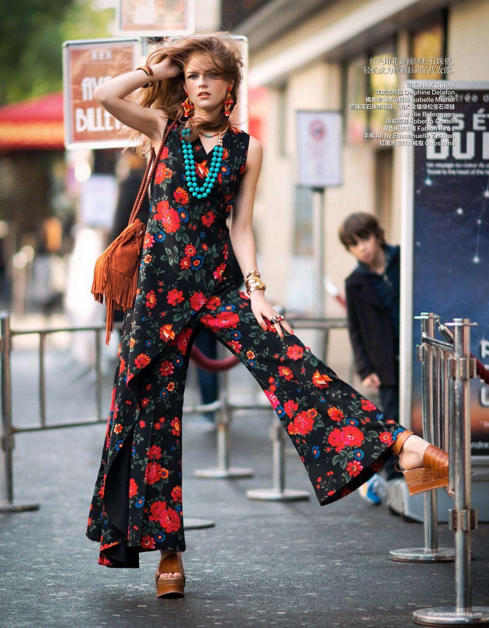 Steal The Look 70 39 S Hippie Glam In Harper S Bazaar Skimbaco Lifestyle Online Magazine