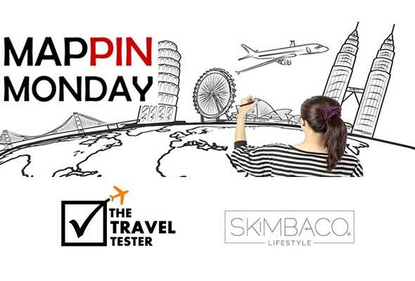 Mappin Monday - travel bloger project on Pinterest by @thetraveltester and @skimbaco