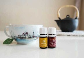 Stay healthy with Thieves essential oils wellness tea!