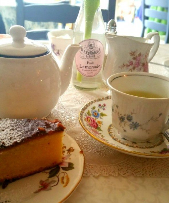 Camomile and Cake, The Willow Cafe Tea Room