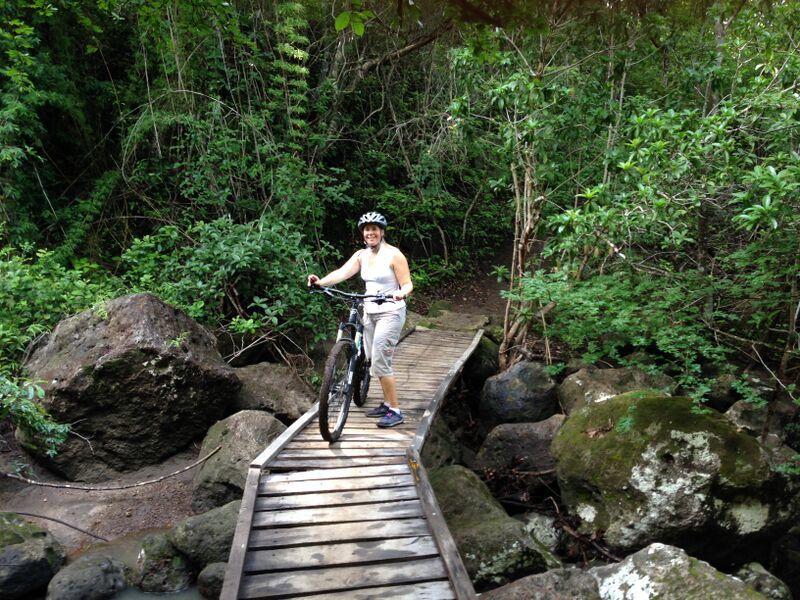 My Skimbaco moment: biking in Costa Rica!