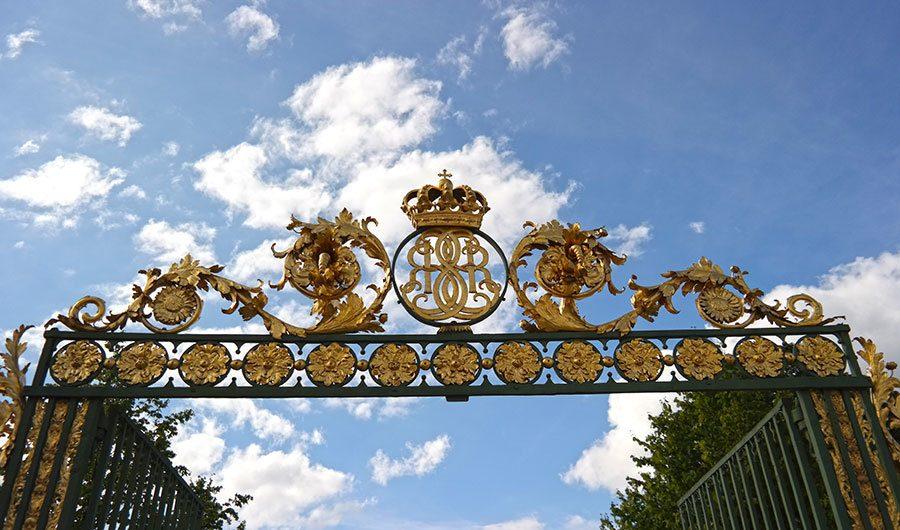 Drottningholm-Palace-gate