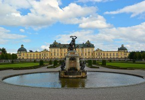 Drottningholm Palace - the luxurious residence of the King of Sweden